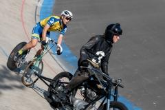 Robert Bolsmann aus Greifswald für das Bikemarket Team hinter Matthias Acker