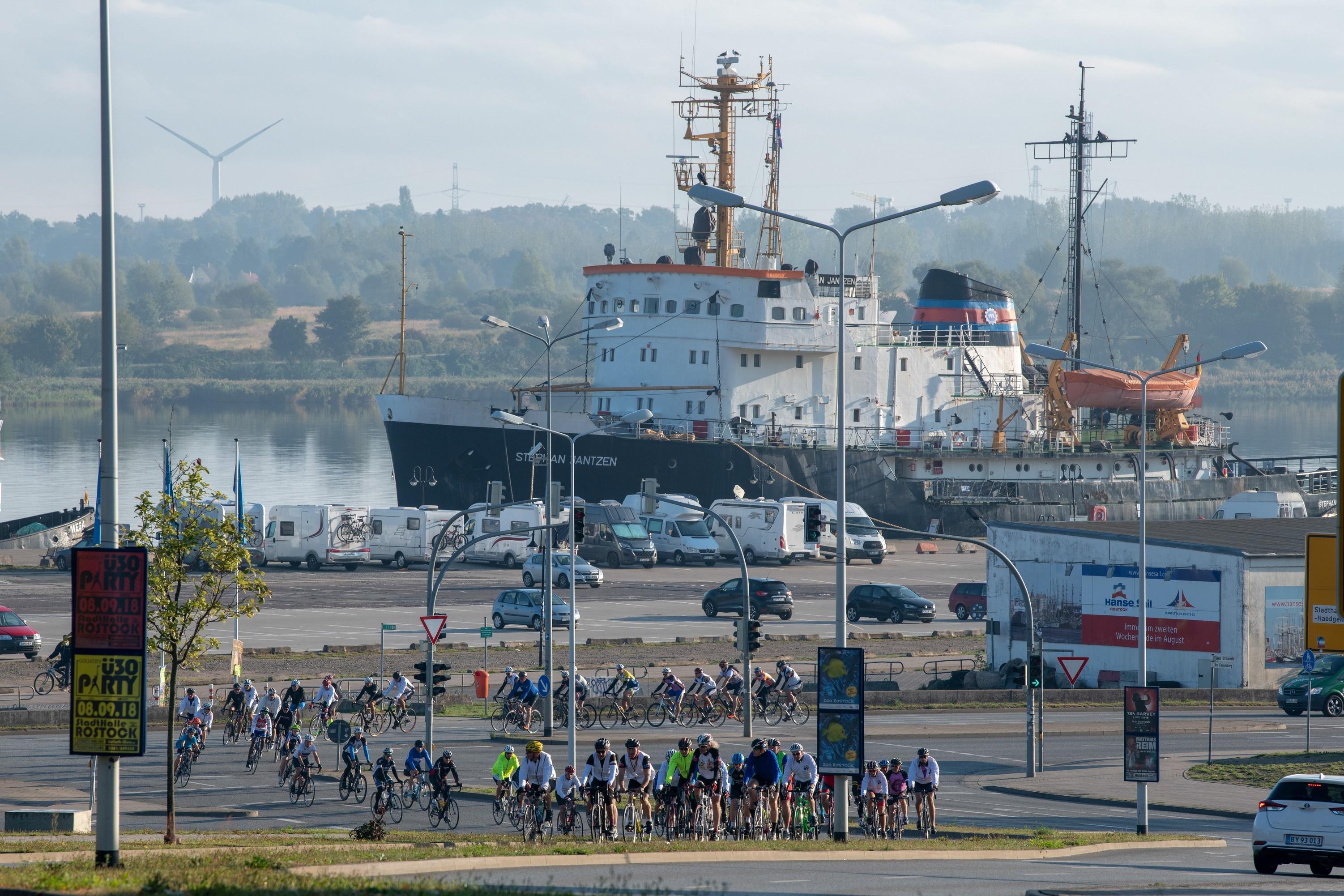 Die Tour im Stadthafen von Rostock